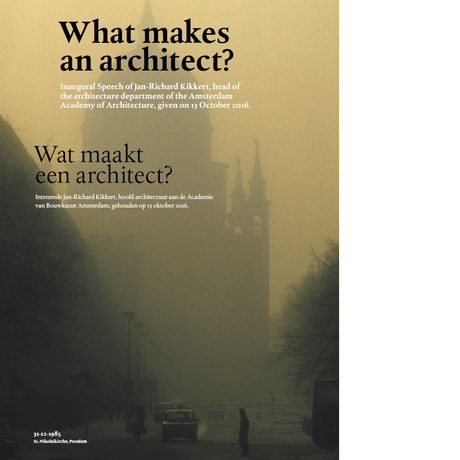 What makes an architect?