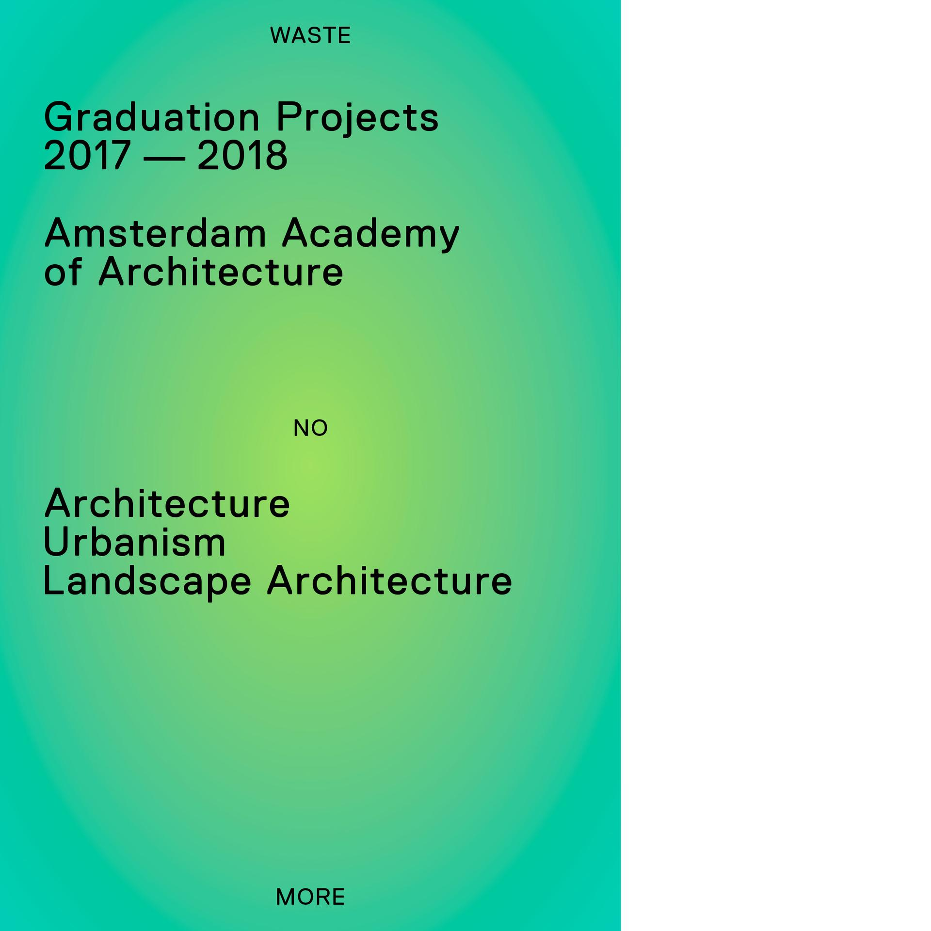 Graduation Projects 2017-2018